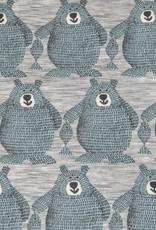 Hilco Folk bear sweat lichtblauw