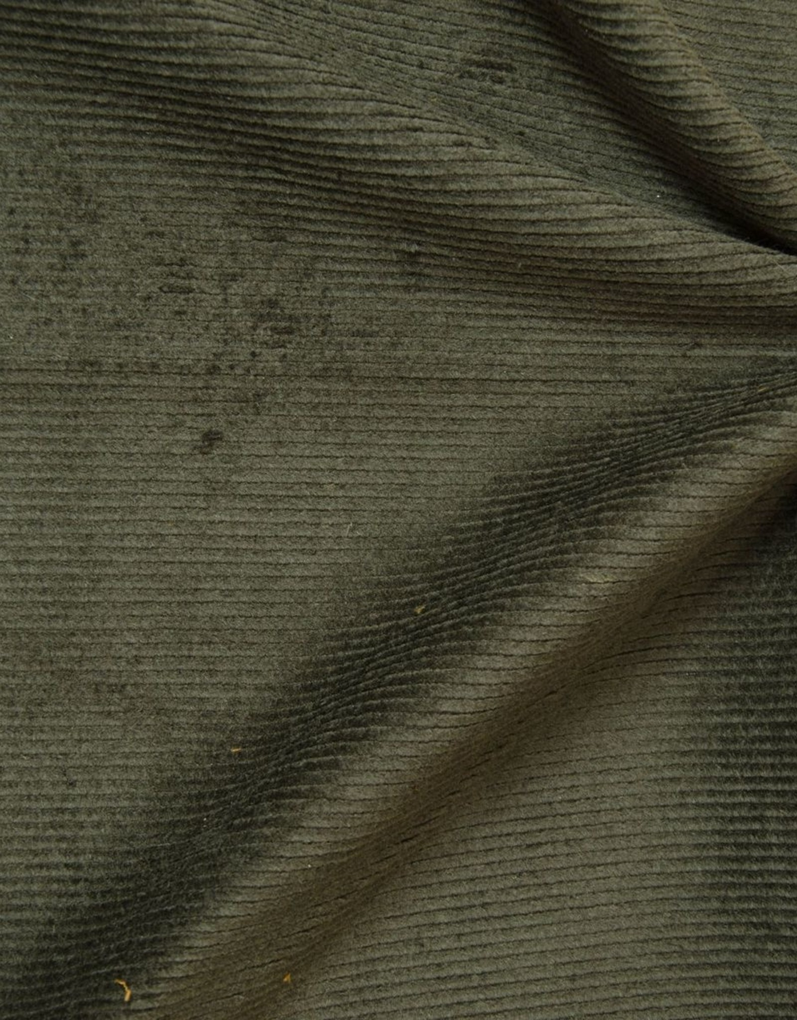 Hilco Kakigrijze ribfluweel