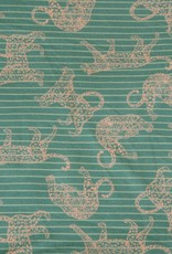 Hilco Panter gestreept groen
