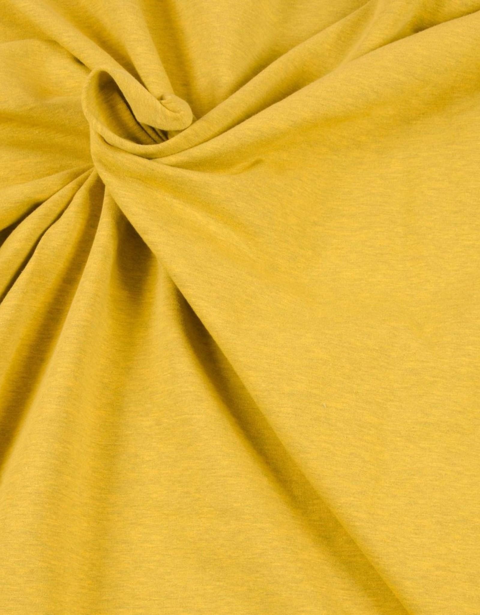 Hilco Sweaterstof geel gemeleerd