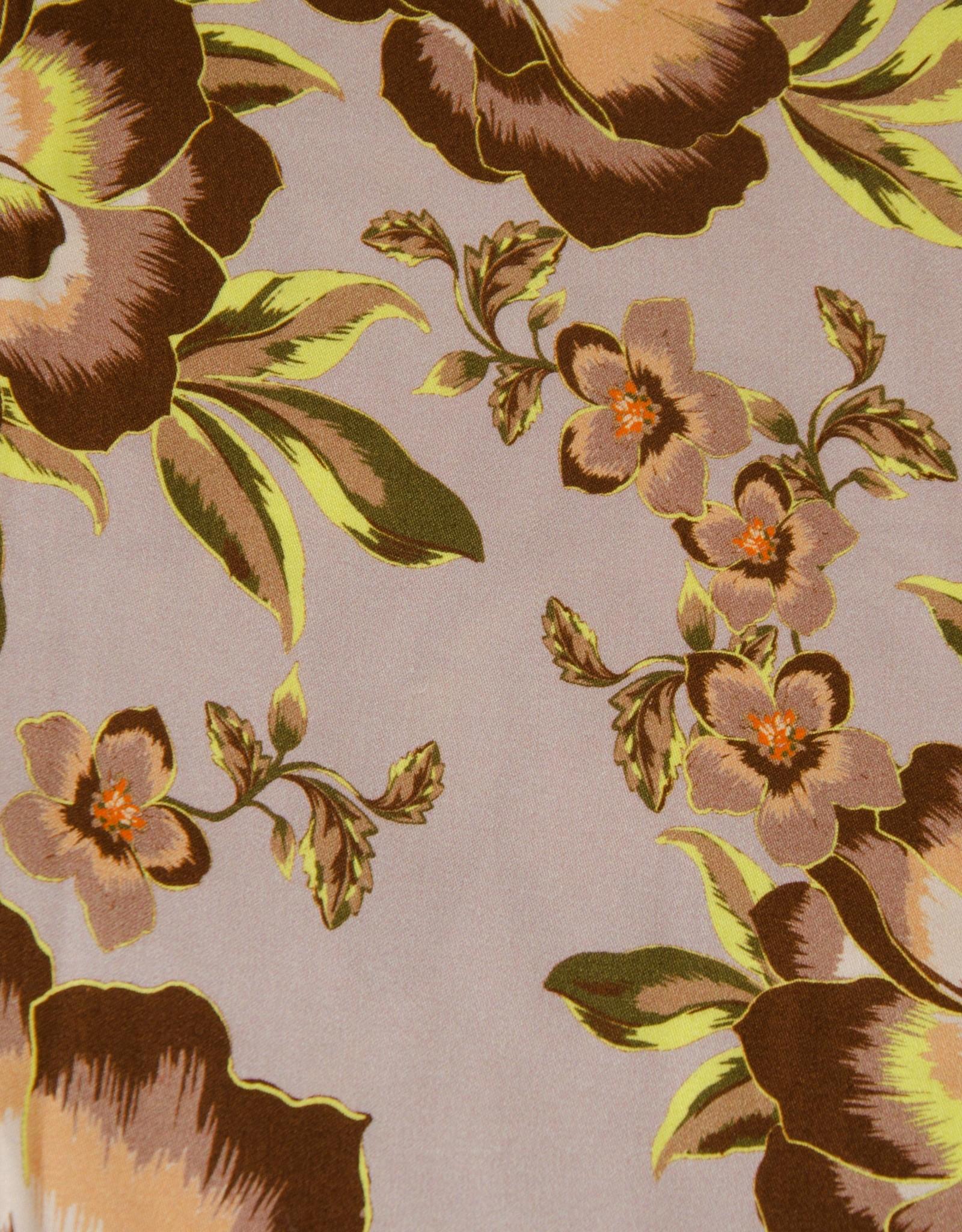 Hilco Bruin met felgele blaadjes