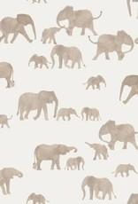 Family Fabrics Elephants French Terry