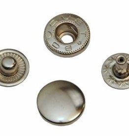 Drukknoop nikkel 12mm
