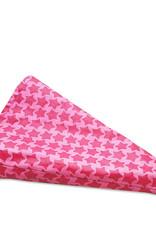 Gelamineerd katoen stars rosa/pink