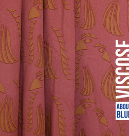 ABF WOL Parrot Red viscose