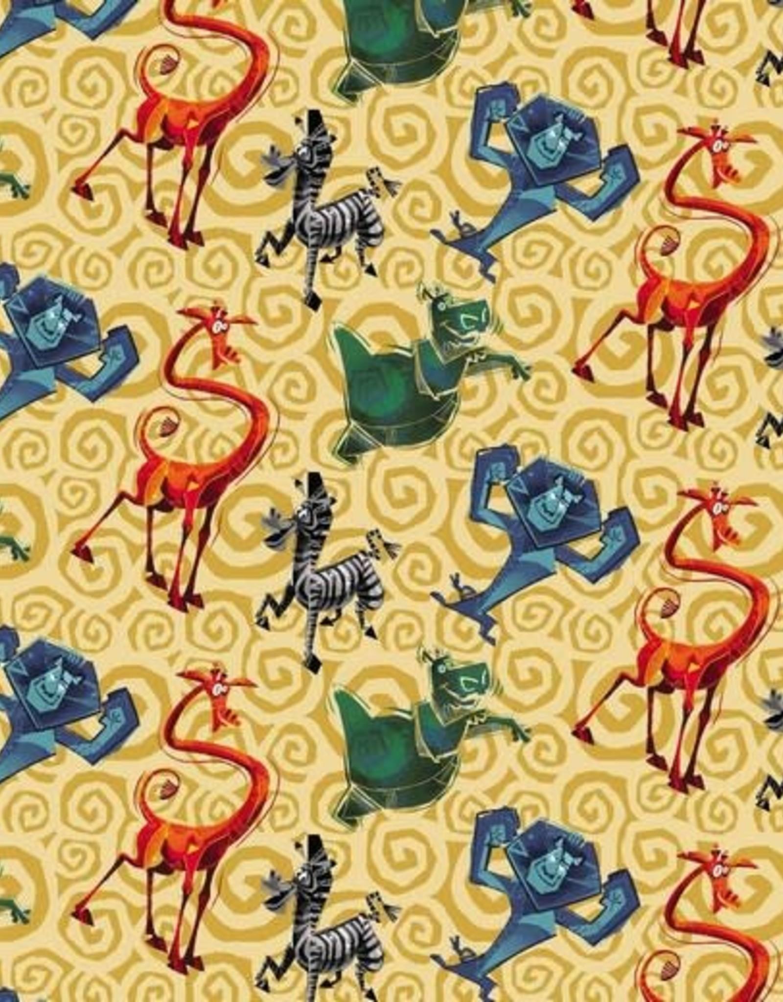 Tricot Madagascar yellow