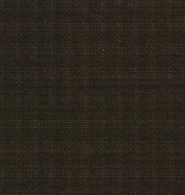 Polyester geruit donkergroen