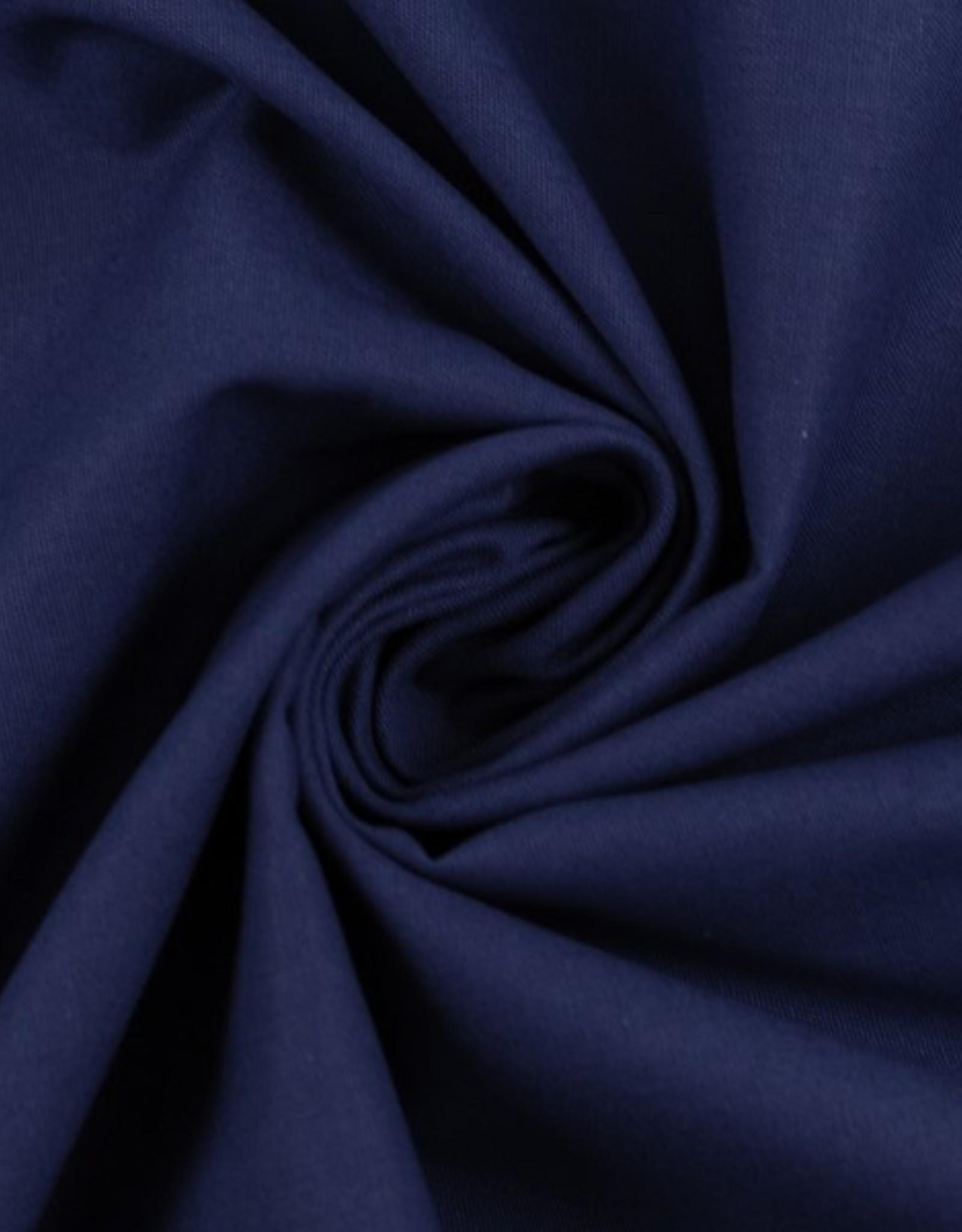 katoen donker blauw