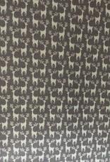 Katoen rendieren grijs