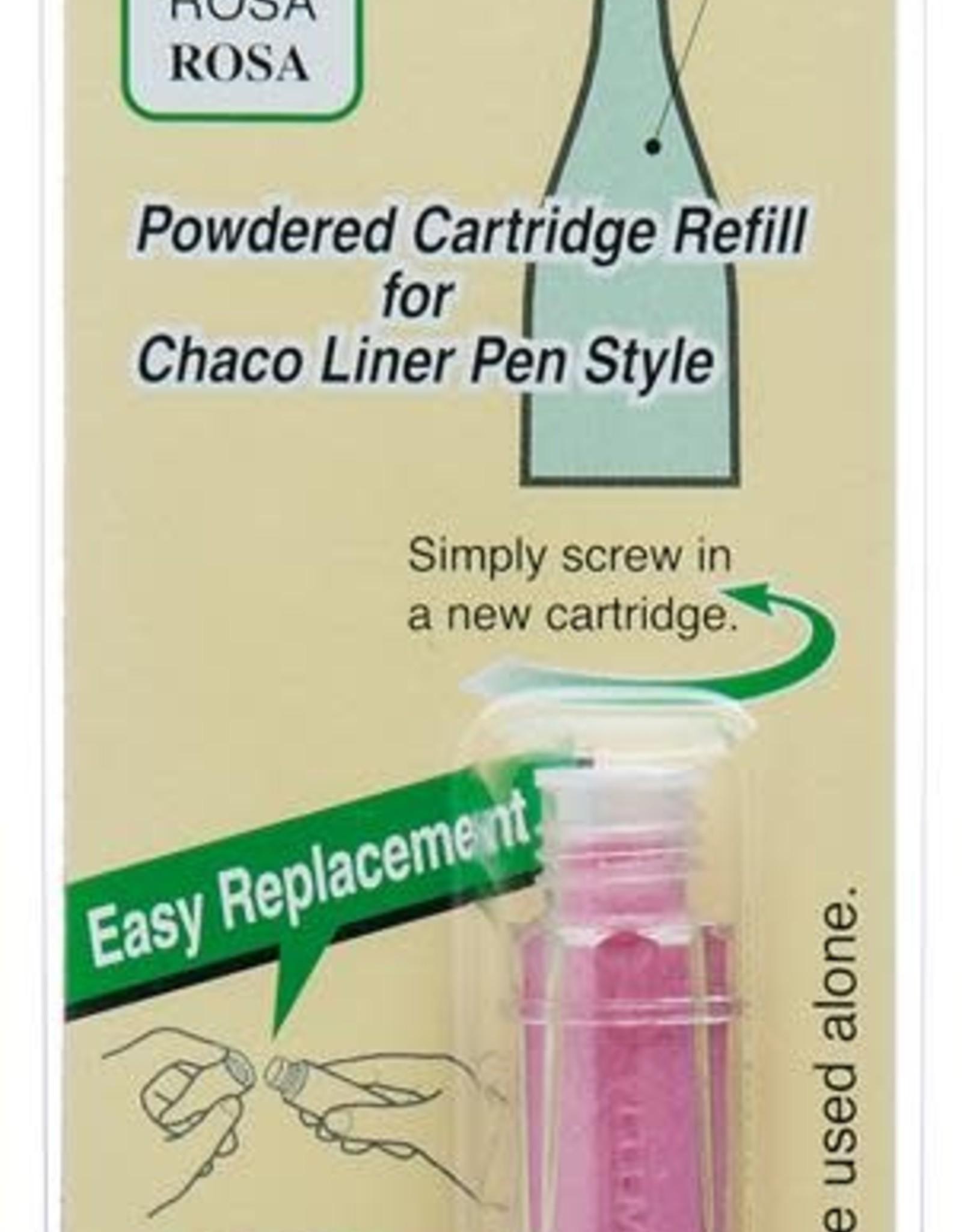 Clover Chaco liner  pen blauw navulling