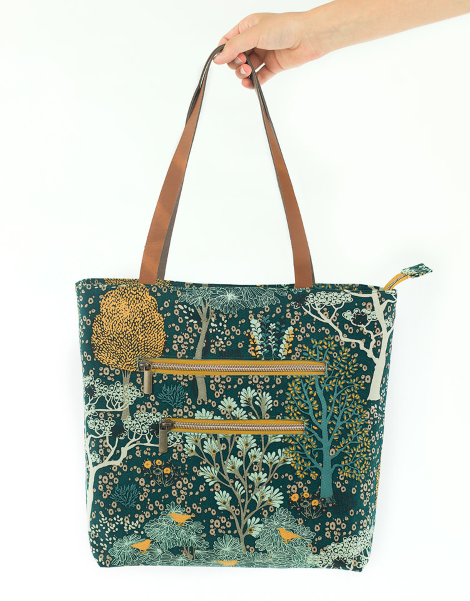 SYAS Oriental garden cotton canvas