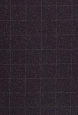Italiaanse wol bruin geruit