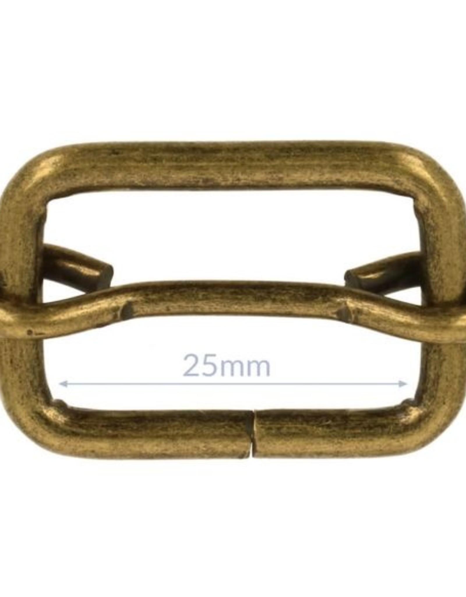 Schuifgesp 25mm