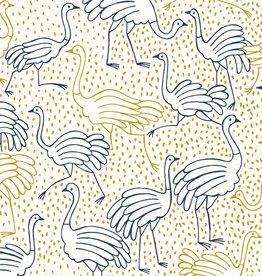 Katia Canvas gold struisvogel