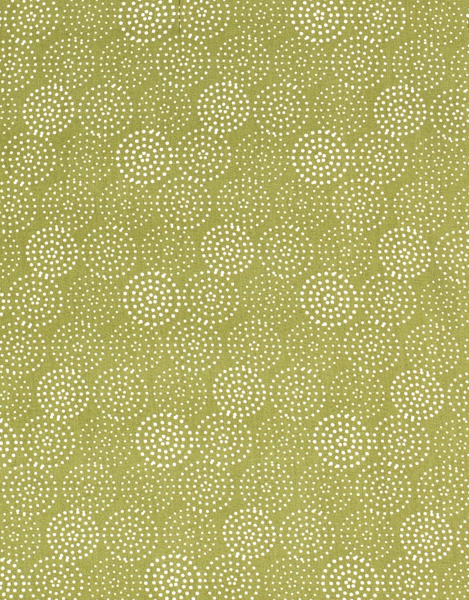 Viscose circles green