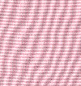 Seersucker check roze
