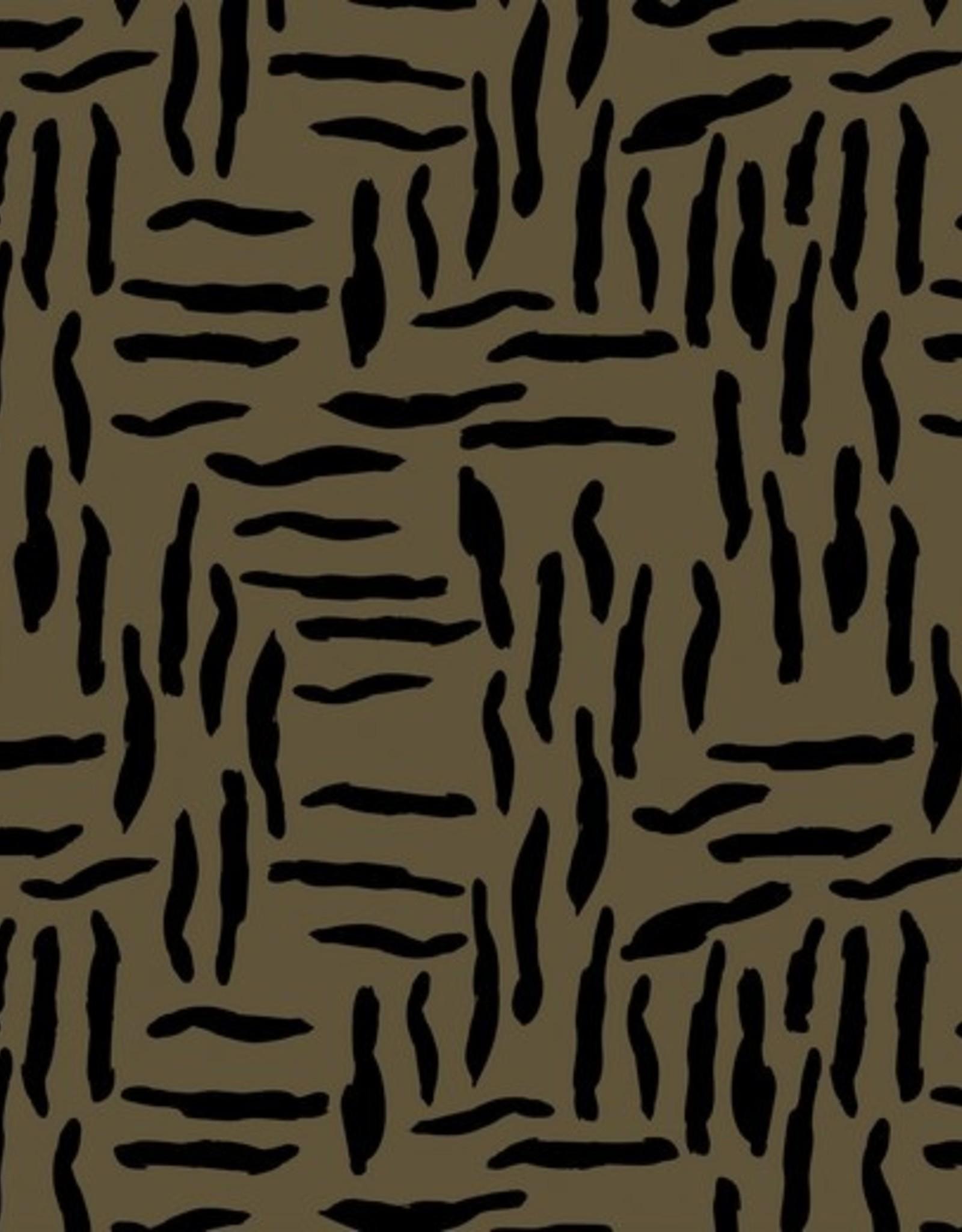 Poppy Oilskin zebra brown