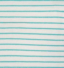 Katia Sweat towel stripes aqua