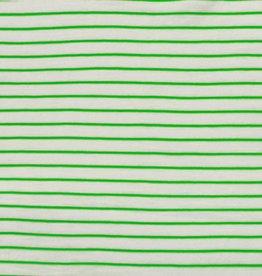 Katia Slub jersey stripes green fluor