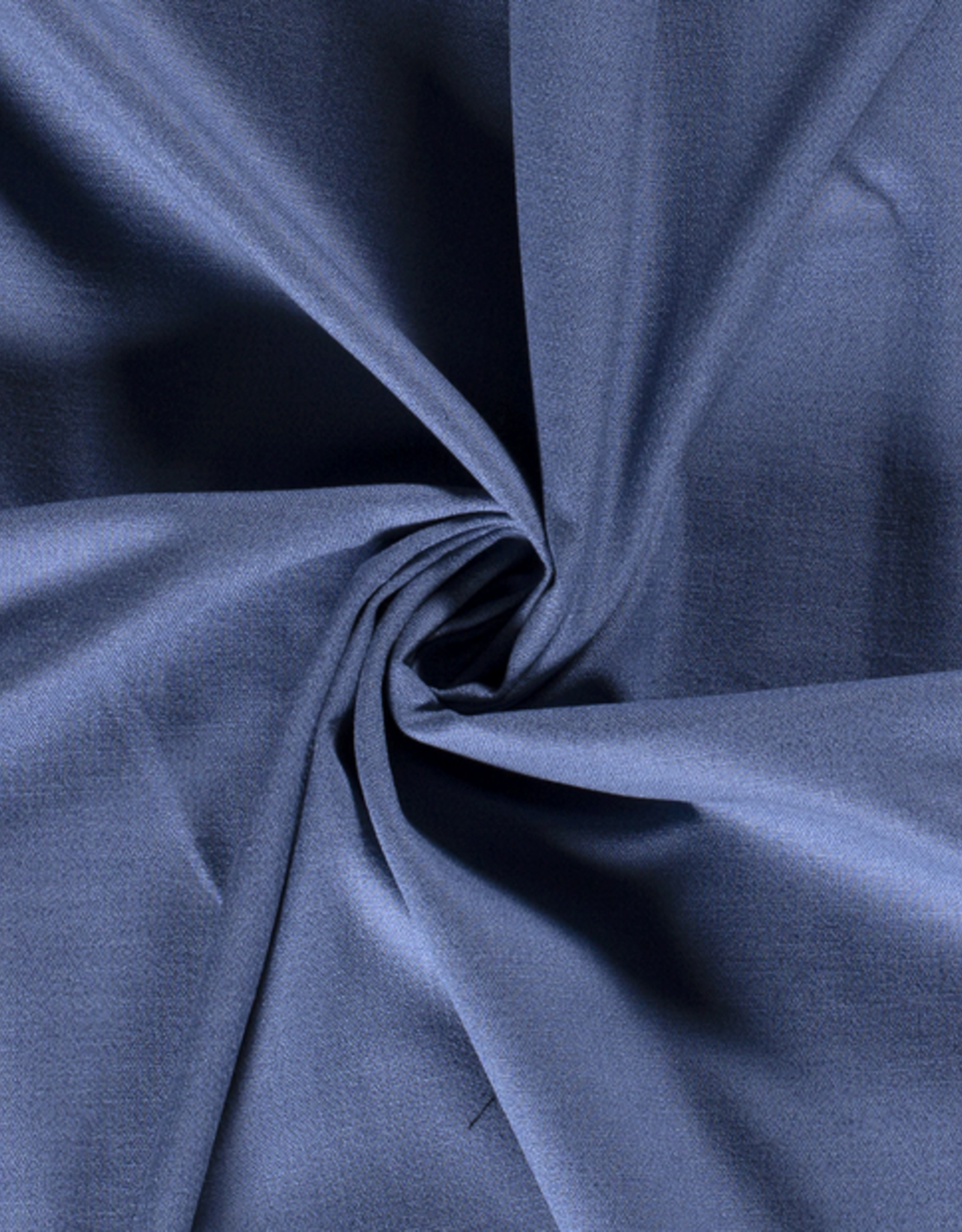 Stretch linnen indigo