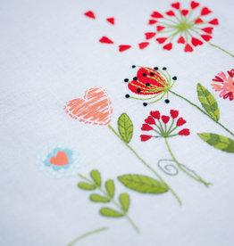 Tafelkleed kit bloempjes