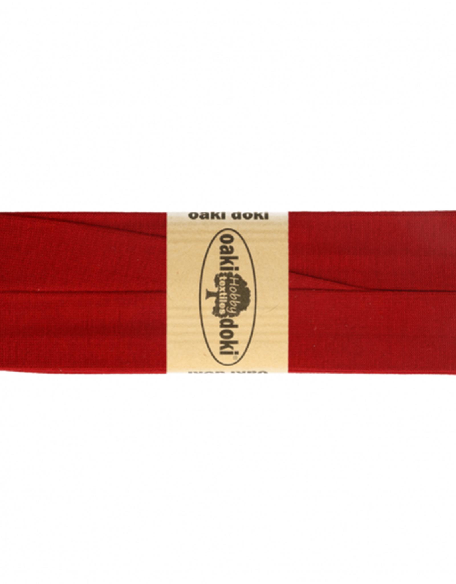 Oaki Doki Tricot de luxe jersey biaisband 20mm x 3m 600