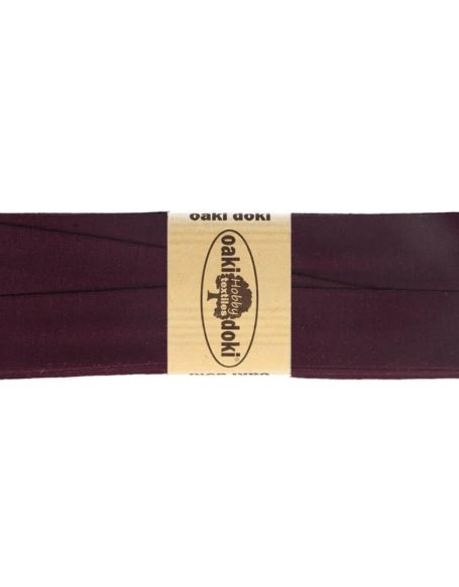 Oaki Doki Tricot de luxe jersey biaisband 20mm x 3m 815
