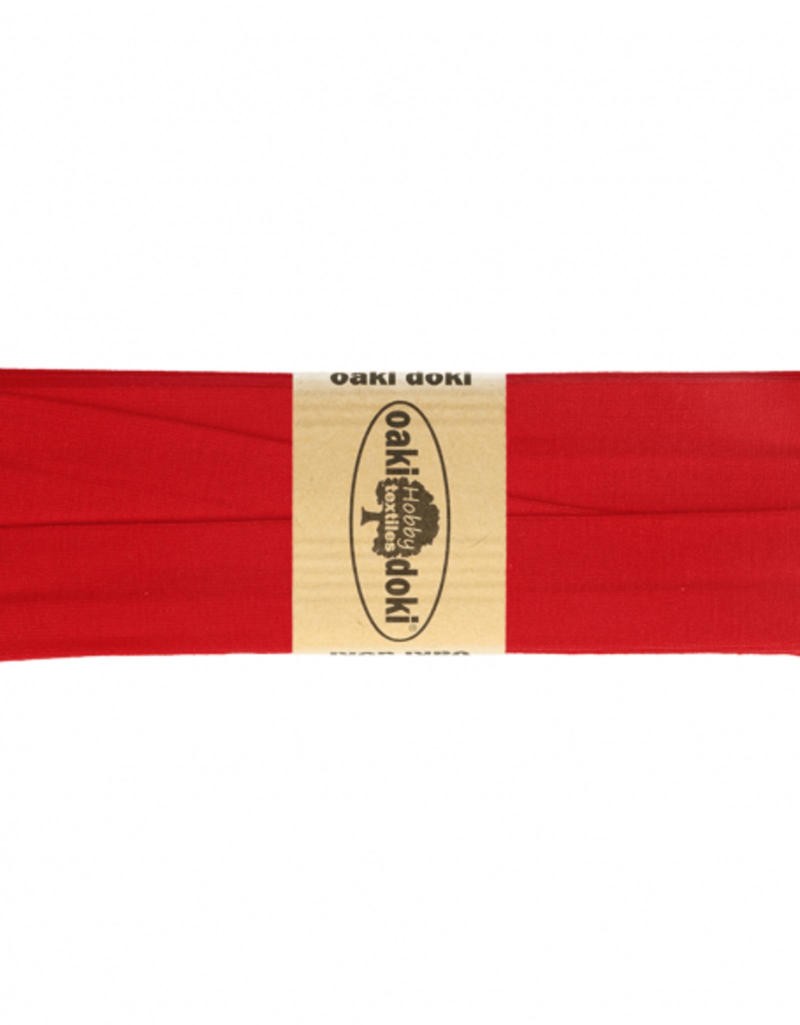 Oaki Doki Tricot de luxe jersey biaisband 20mm x 3m 620