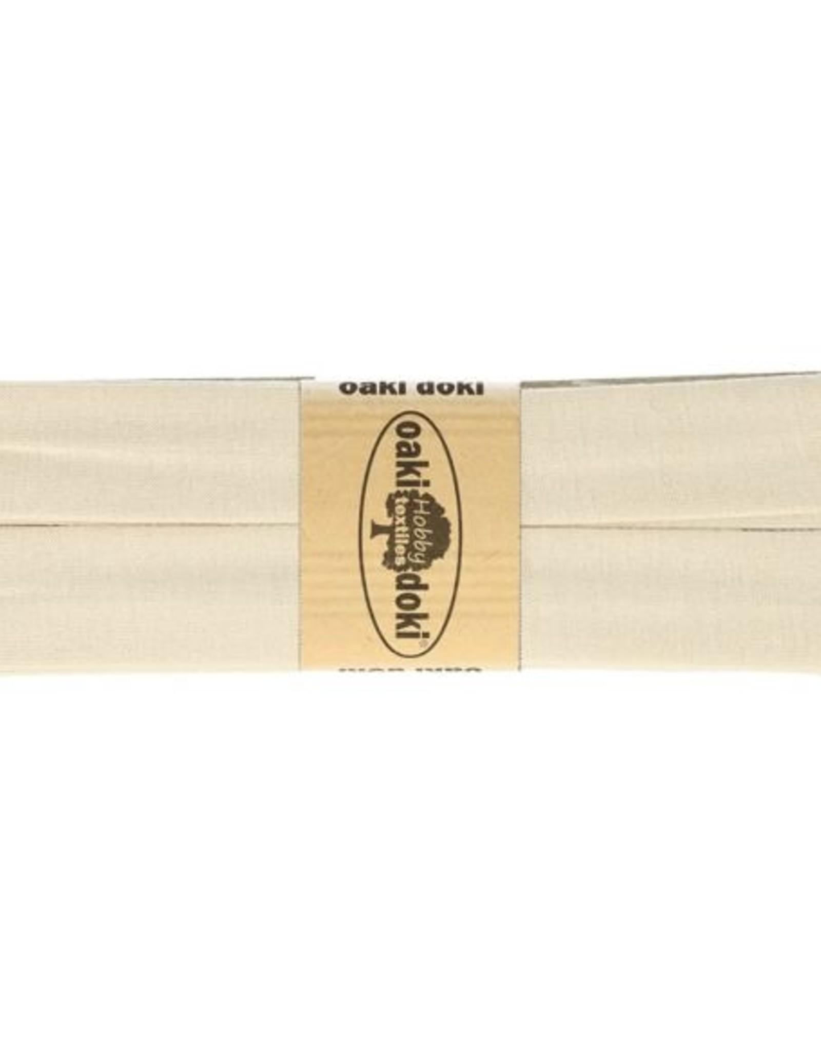 Oaki Doki Tricot de luxe jersey biaisband 20mm x 3m 053