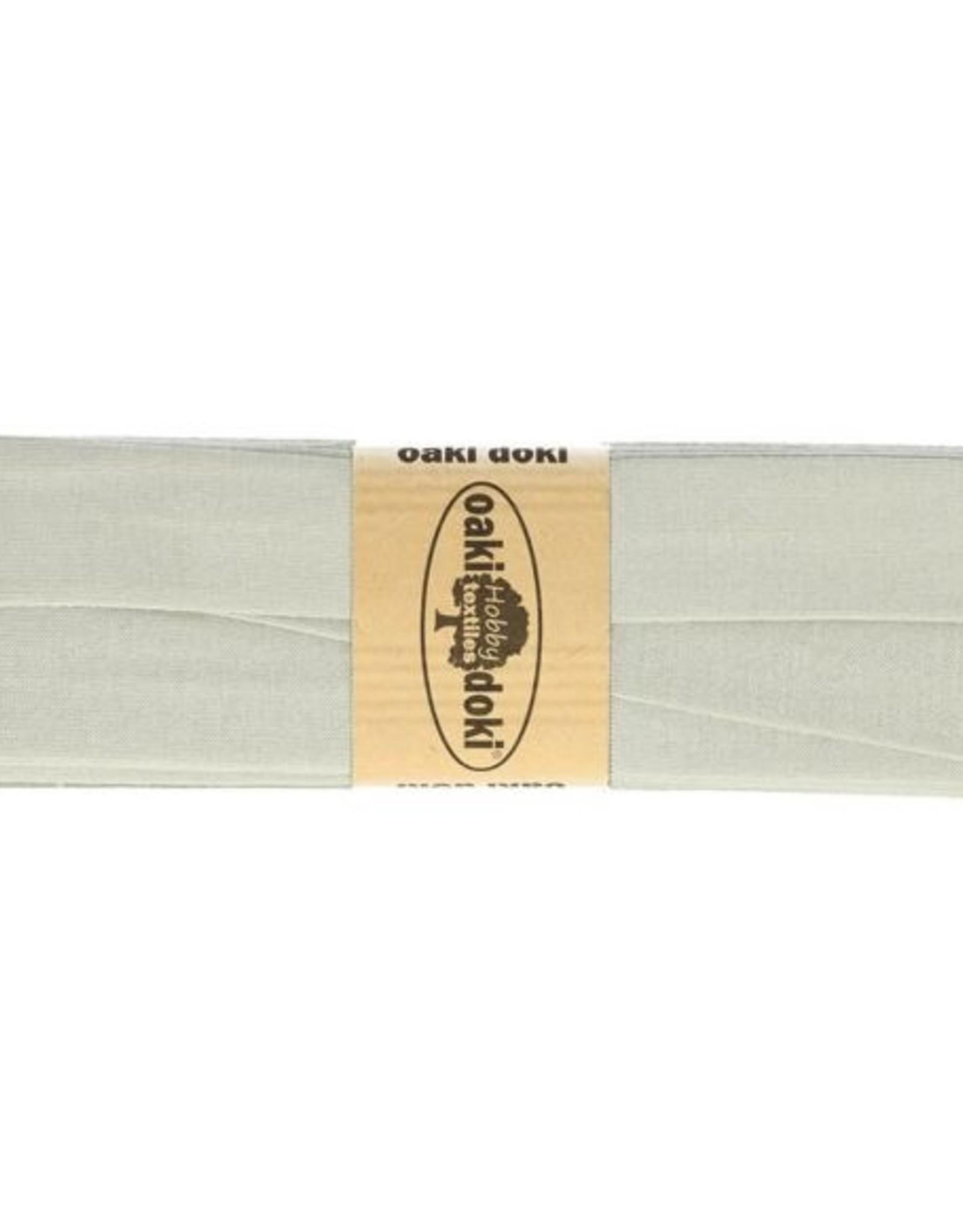 Oaki Doki Tricot de luxe jersey biaisband 20mm x 3m 052