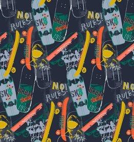 Poppy Skateboards navy