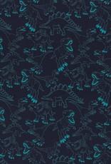 Dino's blauw