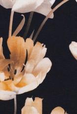 Bloemen zwart