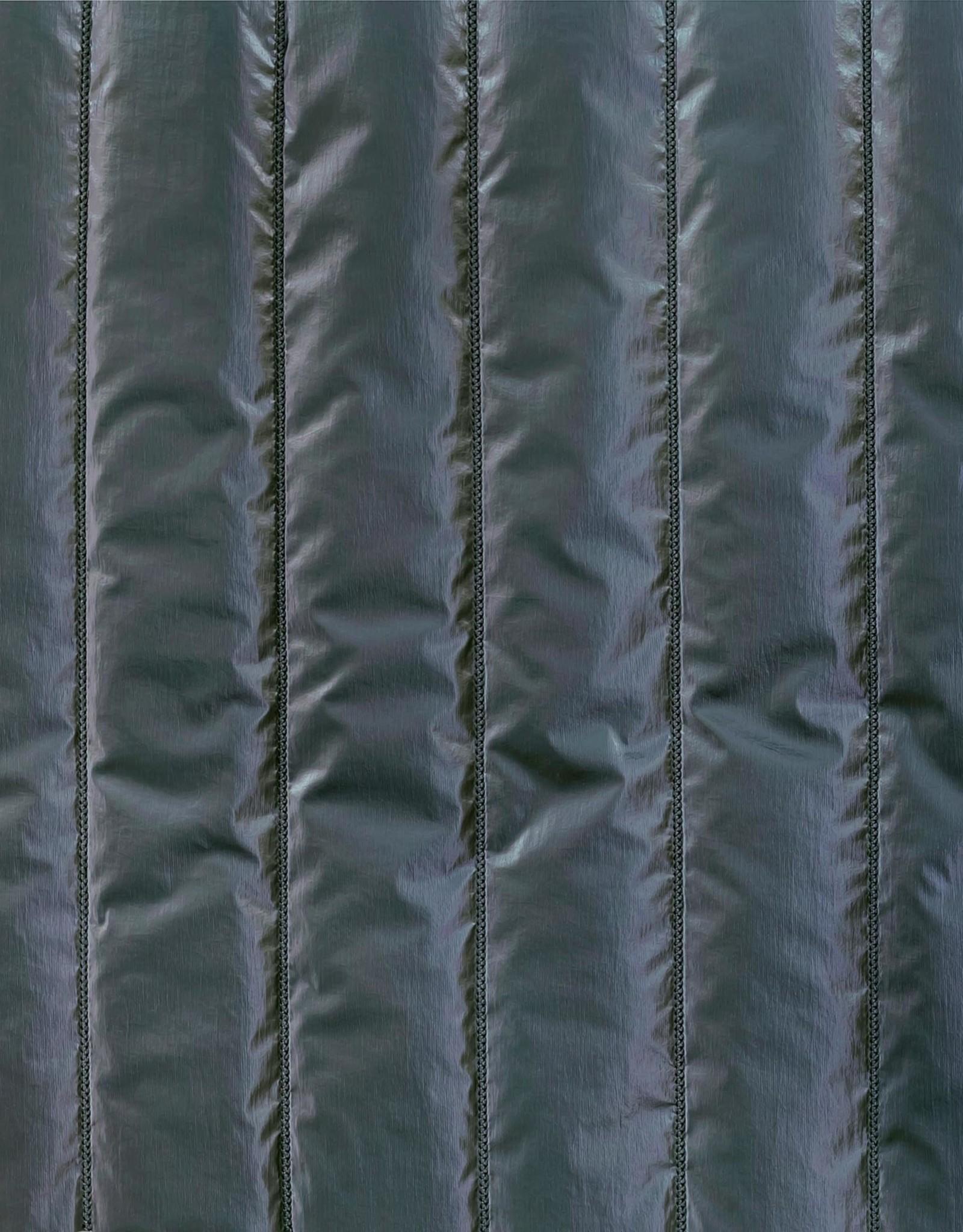 Katia Padded metallized blue