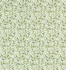 Mousseline groene blaadjes