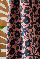 Atelier Jupe Oudroze bloemen katoen stretch