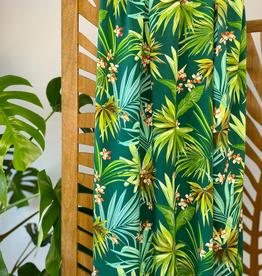 Tropische palmbladeren viscose
