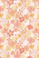 Katia Poplin jumbo flowers