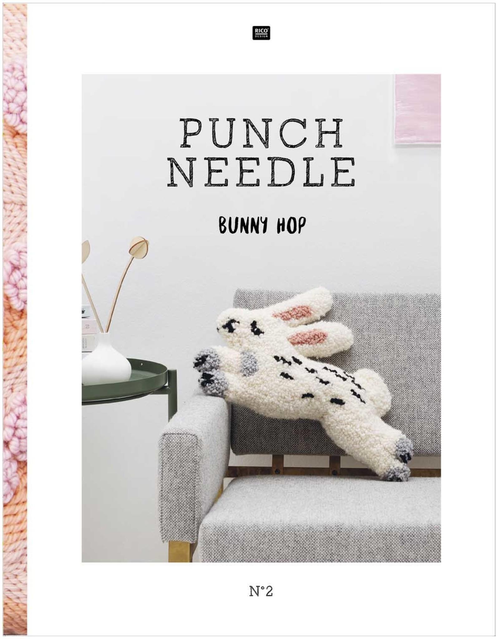 Rico Design Punch needle bunny hop