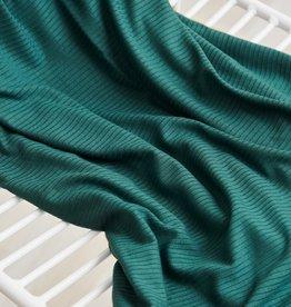 Meet Milk Derby ribbed jersey emerald