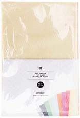Rico Design Vilt fashion kleuren 10 vellen 1mm dik