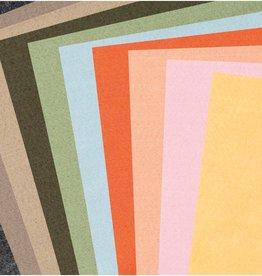 Rico Design Vilt aardkleuren kleuren 10 vellen 1mm dik