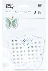 Rico Design Borduurbordjes Pasen 8 stuks