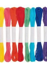 Rico Design Borduurgaren rainbow 10 stuks
