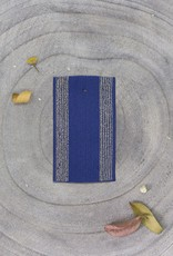 Atelier Brunette Cobalt Striped Elastic Band