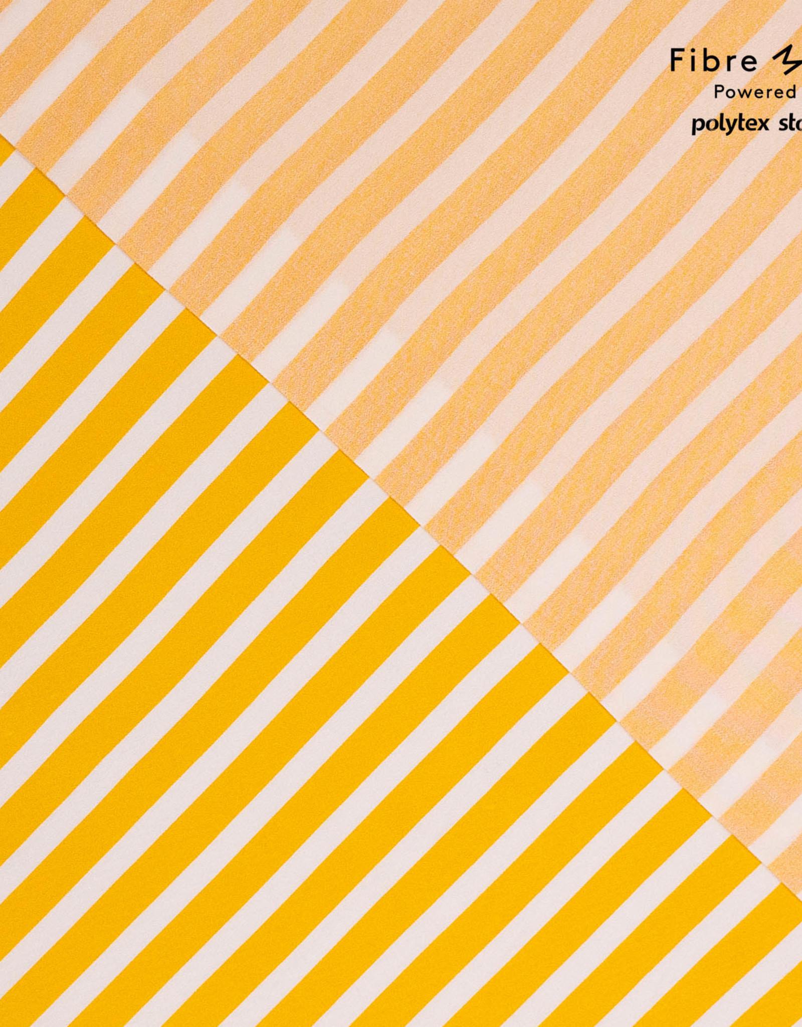 Fibre Mood FM Aila yellow and white stripe