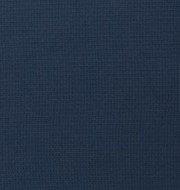 Wafelkatoen donkerblauw