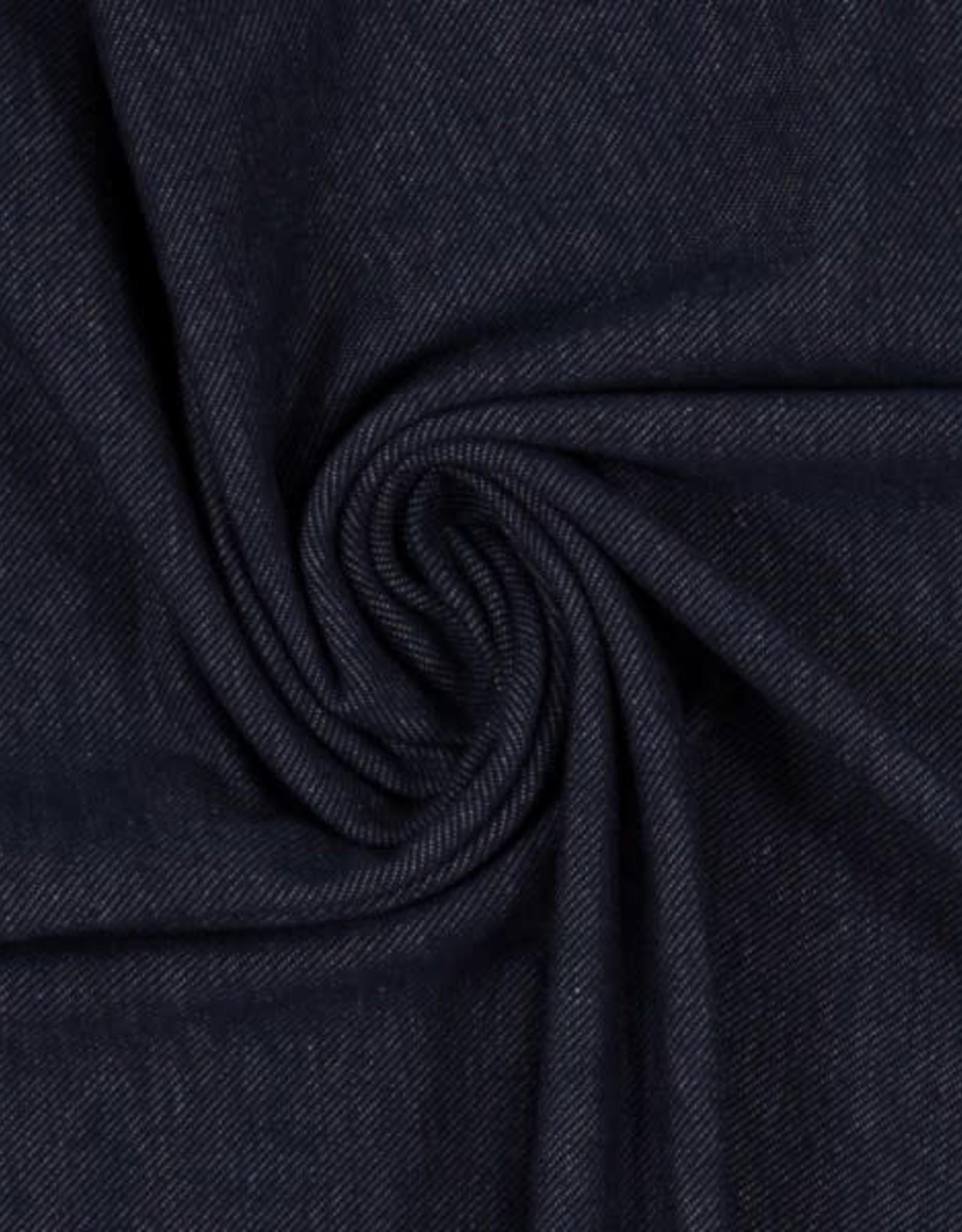 Jeanslook rekbaar donker blauw