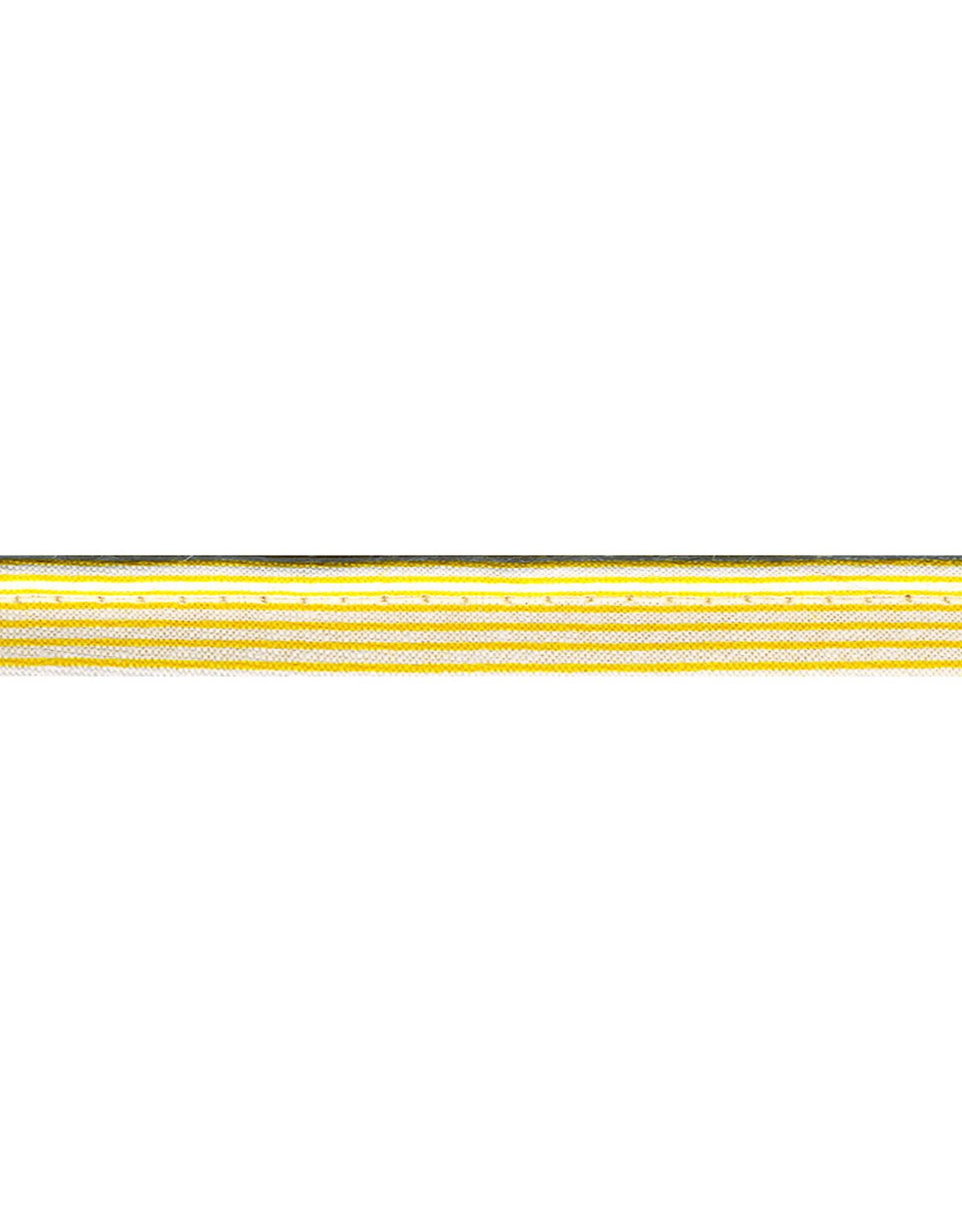 Paspel gestreept katoen 20mm