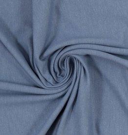 Jeanslook rekbaar blauwgrijs